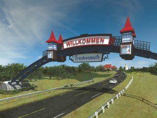 Frankenmuth Palmer Gateway Arch
