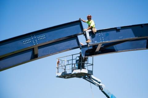 William A. Kibbe & Associates, Steel Arch