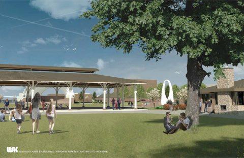 William A. Kibbe & Associates, Wenonah Park Rendering, Bay City, Michigan